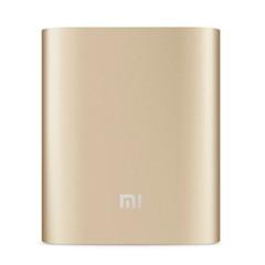 小米充电宝10400毫安手机通用移动电源原装正品 金色