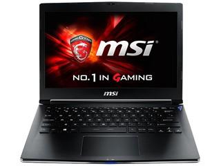 微星GS30 2M-013CN 13.3英寸游戏本(I7-4870HQ/16G/256G SSD/外置GTX980/Win8.1/黑色)