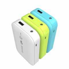 其他可读取U盘的WiFi共享器的移动电源 小米4/iphone都可用 清澈蓝