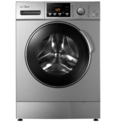 美的MG80-1213EDS 8公斤变频滚筒洗衣机 (银色)