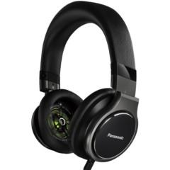 松下RP-HD10GK-K 头戴式HIFI耳机 黑色 高解析度音频耳机 重低音浑厚 音效强劲