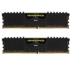 海盗船复仇者LPX DDR4 2400 8GB(4Gx2条)台式机内存(CMK8GX4M2A2400C14)