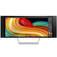 惠普Z34c 34英寸VA屏广视角3440*1440高分21:9曲面屏DTS音响影音宽屏LED背光液晶显示器