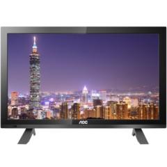 AOC T1951MD 18.5英寸宽屏全高清多媒体LED背光液晶电视/显示器(黑色)