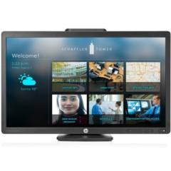 惠普E221i 21.5英寸IPS广视角旋转升降宽屏LED背光液晶显示器(黑)