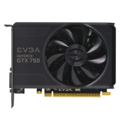 EVGA GTX750 1GB Ref. 1020-1085MHz/5012MHz 128Bit D5 显卡