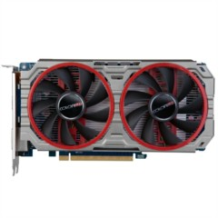 镭风R7-260X 悍甲蜥Twin-1GD5 1000MHz/6000MHz 1024M/128位 GDDR5 PCI-E 3.0显卡