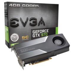 EVGA GTX970 4G SC 1140-1279MHz /7010MHz 256bit 显卡