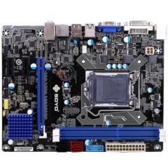 梅捷SY-H91+ 全固版 V2.0 主板(Intel H81/LGA 1150)