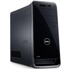 戴尔XPS 8900-R18N8 台式主机 (i7-6700K 24G 32G SSD+2T 2G独显 三年上门 WIFI 蓝牙 WIN10)