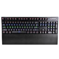 贼鸥TK2100突袭者混光游戏机械键盘青轴(G轴)