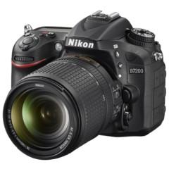 尼康D7200单反双头套机(AF-S DX 18-140mm f/3.5-5.6G镜头 + DX 35mm f/1.8G 镜头)