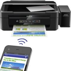 爱普生L365 墨仓式 无线打印机一体机(打印 复印 扫描 Wifi)