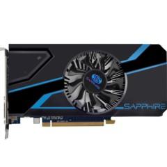 蓝宝石R7 350 2G D5 白金版 1000MHz/4000MHz 2GB/128bit GDDR5 DX12 显卡