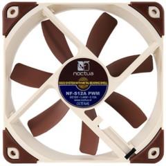 猫头鹰NF-S12A PWM 智能温控CPU风扇12cm 静音机箱风扇
