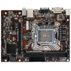七彩虹C.H110M-K全固态版 V20 主板 (Intel H110/LGA 1151)