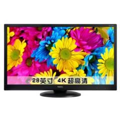 NEC VE2816PU-BK 4K超高清液晶显示器 10.7亿色数 USB3.0接口
