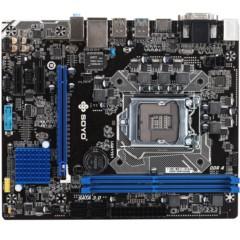 梅捷SY-H110D4+ 魔声版 主板( Intel H110/LGA 1151)