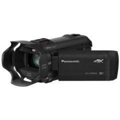 松下HC-VX980MGK-K 4K数码摄像机 黑色(1/2.3英寸BSI MOS 20倍光学变焦 5轴混合O.I.S.)