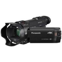 松下HC-WXF990MGK-K 4K数码摄像机 黑色(1/2.3英寸BSI MOS 仿电影特效 5轴混合O.I.S.)