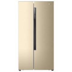 海尔BCD-642WDVMU1 642升变频风冷无霜对开门智能WIFI 人工智慧 (智能APP手机控制)香槟金色