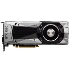 华硕GTX1080-8G 1607~1733MHz/10Gbps  8GB/256bit GDDR5X PCI-E3.0显卡
