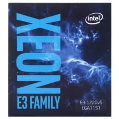 Intel至强处理器E3-1220 v5 (LGA1151/3.00GHz/8M/80W/14nm)