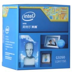 Intel奔腾 G3260 Haswell架构盒装CPU处理器(LGA1150/3.3GHz/3M三级缓存/53W/22纳米)