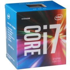 Intel酷睿i7-6700 14纳米 Skylake全新架构盒装CPU处理器 (LGA1151/3.4GHz/8MB三级缓存/65W)