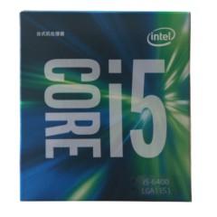 Intel酷睿i5-6400 14纳米 Skylake全新架构盒装CPU处理器 (LGA1151/2.7GHz/6MB三级缓存/65W