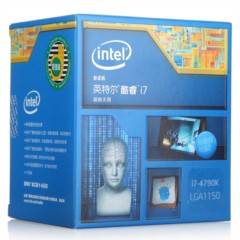Intel酷睿i7-4790k 22纳米 Haswell全新架构盒装CPU处理器(LGA1150/4GHz/8M三级缓存)
