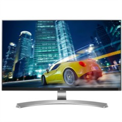 LG27UD88-W 27英寸4K IPS硬屏 护眼不闪滤蓝光LED背光液晶显示器
