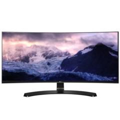 LG29UC88-B 29英寸21:9超宽屏曲面IPS硬屏 护眼不闪滤蓝光LED背光液晶显示器