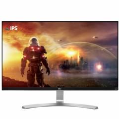 LG27UD68-W 27英寸4K IPS硬屏 护眼不闪滤蓝光LED背光液晶显示器