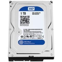 西部数据蓝盘 1TB SATA6Gb/s 7200转64M 台式机硬盘(10EZEX)
