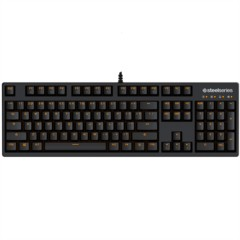 赛睿Apex M260狂热之橙版 游戏键盘 黑轴