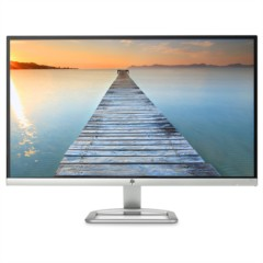 惠普27ES 27英寸纤薄 IPS FHD 防眩光 178度广视角 色彩增强 LED背光液晶显示器(黑色)