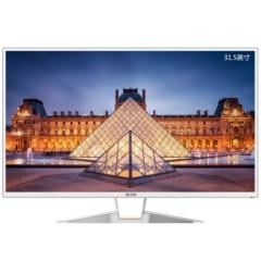 艾尔莎E32B300WH FHD 31.5英寸液晶显示器 IPS 不闪炫丽屏 广视角 HDMI+DVI+VGA接口
