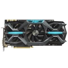 索泰GeForce GTX1080-8GD5X 玩家力量至尊OC 1771-1911MHz/10210MHz 8G/256bit GDDR5X PCI-E显卡