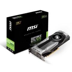 微星GTX 1070 Founders Edition 8GB GDDR5 PCI-E 3.0 显卡