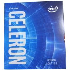 Intel赛扬双核 G3900 1151接口 盒装CPU处理器