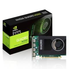 丽台专业显卡Quadro M2000 4GB DDR5/128-bit/106Gbps/CUDA核心768/PCI-E3.0