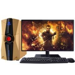 海尔轰天雷X75-R4SC8台式电脑( Intel 新四核I5-4460 4G 128G SSD DVD Win8.1 键鼠)游戏电脑