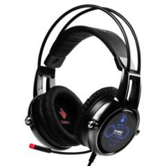 硕美科E95X 汉宫版 游戏耳机 物理5.2多声道 伸缩麦克风 电脑耳麦