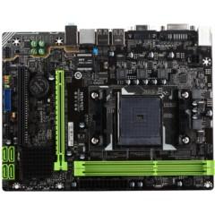 铭�uMS-A68GL+ 全固版 M.2 主板(AMD A68H/Socket FM2+)