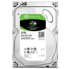 希捷酷鱼系列 2TB 7200转64M SATA3 台式机硬盘(ST2000DM006)
