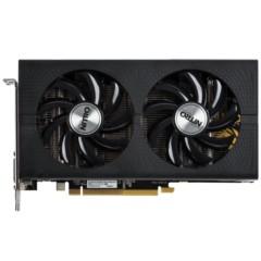 蓝宝石RX460 4G D5 超白金 OC 1250MHz/7000MHz 4GB/128bit GDDR5 DX12 游戏显卡