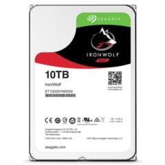 希捷酷狼系列 10TB 7200转256M SATA3 (NAS)硬盘(ST10000VN0004)