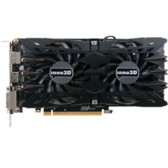 映众GTX1060黑金至尊版 1506~1708/8000MHz 6GB/192Bit GDDR5 PCI-E显卡