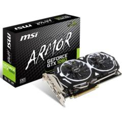 微星GTX 1060 ARMOR 3G OC 192BIT PCI-E 3.0 显卡